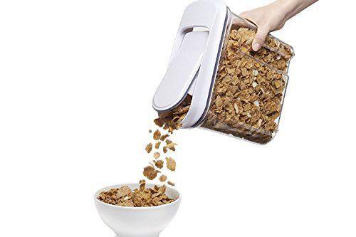 OXO SoftWorks 2 Piece Large Pop Cereal Dispenser Set (719812083278 )