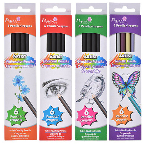 Paper Craft Artist Pencils, 6-ct. Boxes (220070)