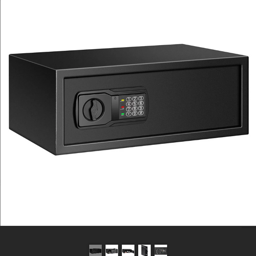 Fortress Large Personal Safe with Electronic Lock