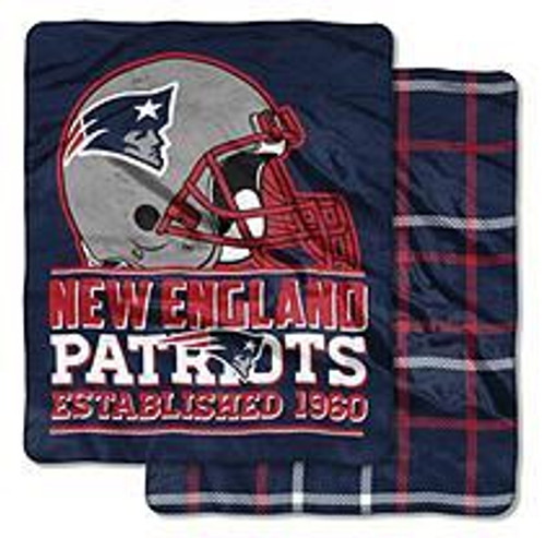 NFL NEW ENGLAND PAT CLOUD THROW (0 87918 84647 0)