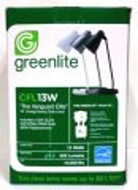 Greenlite Cfl 13w \the Vanguard Elite\ 19\ Energy-saving Desk Lamp - Silver