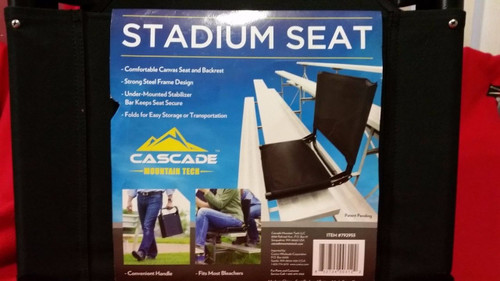 CASCADE Mountain Tech Stadium seat (3689)