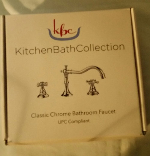 KBC Classic Chrome Bathroom Faucet Set KBC-FACLCH ( KBC-FACLCH)