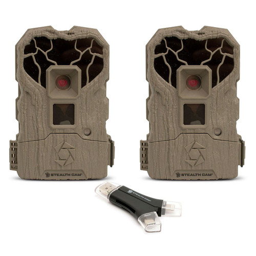 Stealth Cam XS14 14mp Trail Camera with 4-1 Card Reader (980120763)