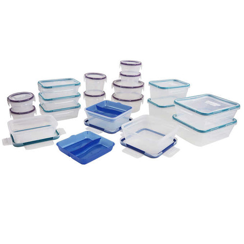 Snapware Total Solutions 38-piece Plastic Food Storage Set (1103107)