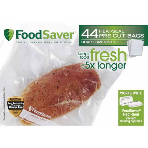 FoodSaver Quart-Size Vacuum Storage Bags, 44 ct. ( FSFSBF0229-076 )