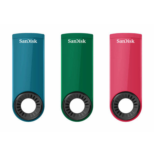 SanDisk Cruzer Dial 32GB USB 2.0 Flash Drive, 3 pk. (SDCZ57-032G-A16S3 )