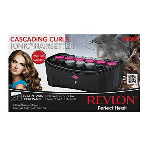 Revlon Perfect Heat Cascading Curls 20 Piece Hair-Setter (RVHS6611)