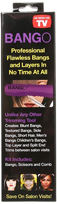 Pro Beauty Tools Bango Purple Haircutting Tool, PBTB2300