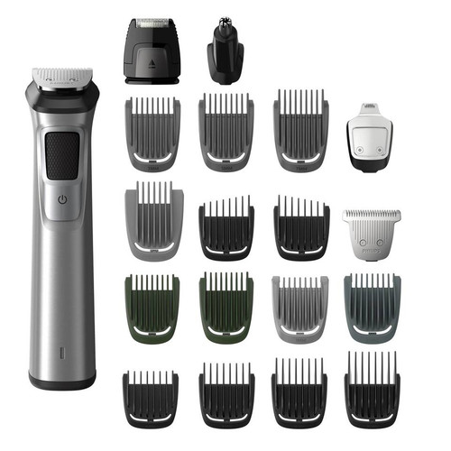 Philips Norelco Stainless Steel All-in-One Trimmer ( Multigroom 7000)