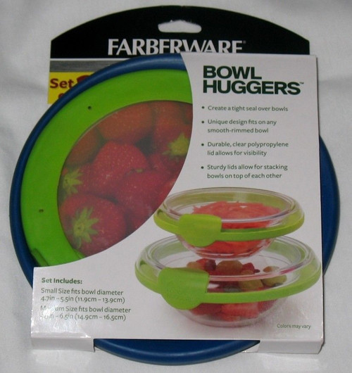 Farberware Professional Bowl Huggers Set of 2 Small & Medium ( 5163517)