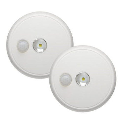 100-Lumen Ceiling Light, 2 pk.