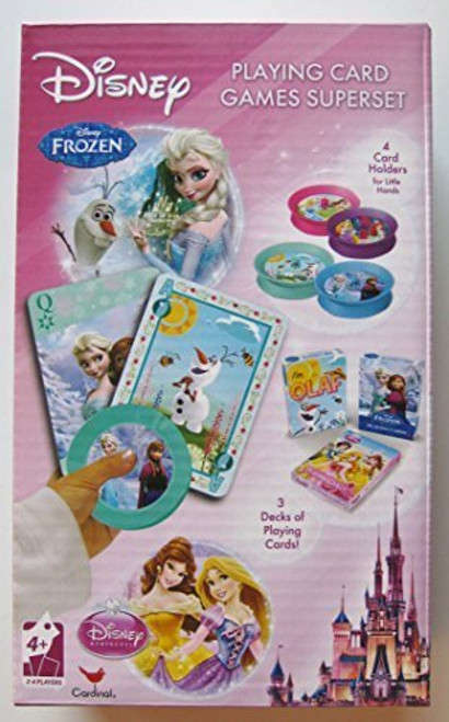 Superset Card Games choose from Disney, Marvel, Despicable Me (5722)