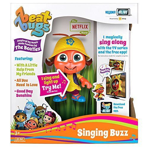 Beat Bugs Singing Figures