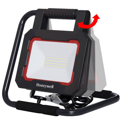 Honeywell LED 3000 Lumen Collapsible Work Light with Rotating Light Head (WK302001L120)