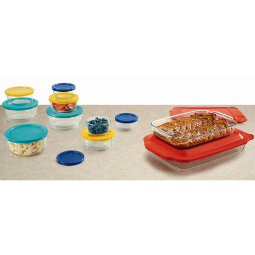 Pyrex Easy Grab 22-Pc. Bake 'N' Store Set