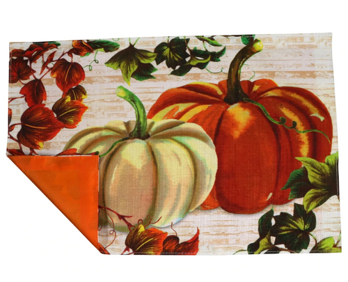 Harvest Pumpkin Placmats set of 4 (279388)
