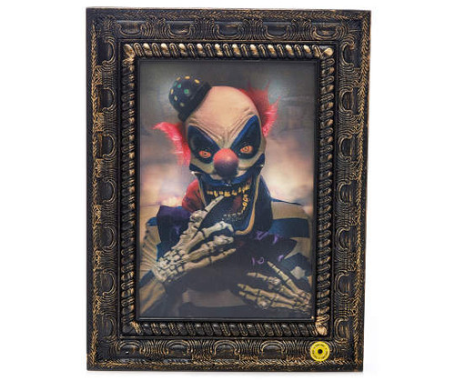 Haunted Hollow Haunted Light & Sound Photo Frame