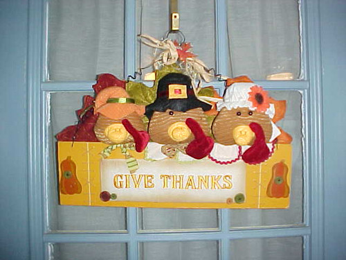 Give Thanks Door Decor