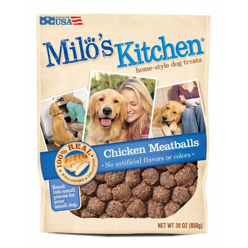 Milo's Kitchen Chicken Meatballs Dog Treats, 30 oz. (699575)