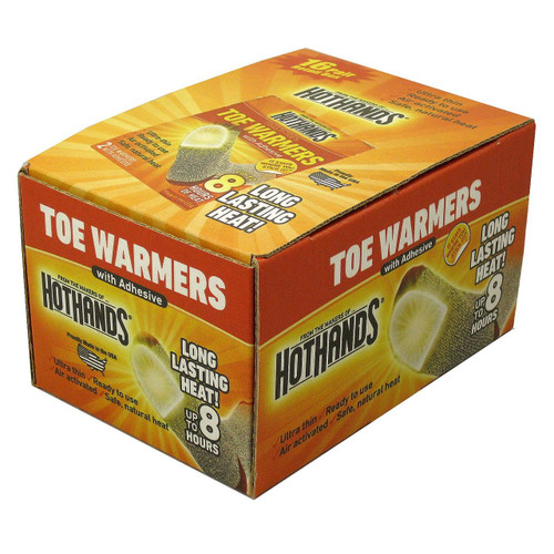 HotHands Hand Warmer or Toe Warmers (TWTRAY36CT)