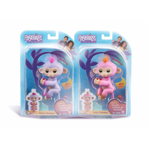 Fingerlings 2Tone Baby Monkeys, 2 pk. - Assorted ( 37020 )