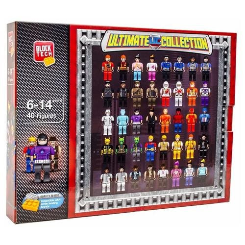 Block Tech Ultimate Collection 40-Figure Set (US24-0654/BJS)