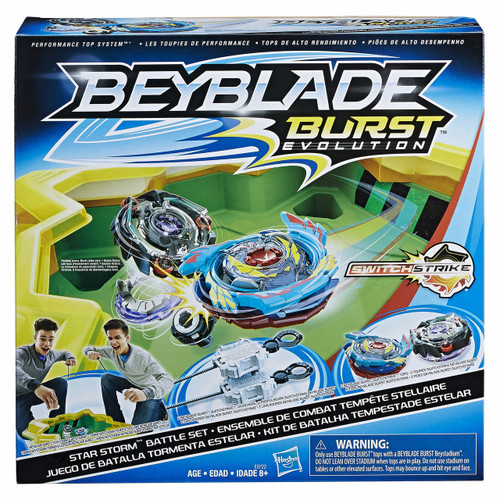 Beyblade Burst Evolution Star Storm Battle Set (C5726AT70)