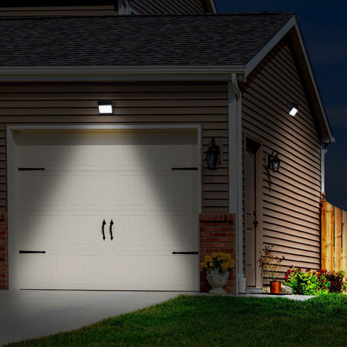 Westinghouse 1000 Lumen Linkable Solar Motion-Activated LED Security Light (Q08BN0301-08)