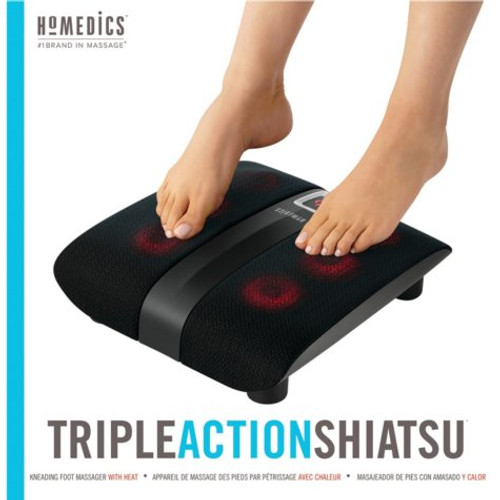 HoMedics Triple-Action Shiatsu Foot Massager with Heat ( FMS-271H)