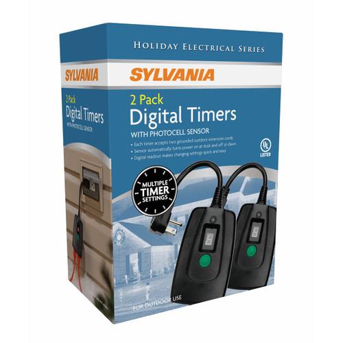 Sylvania Digital Timers, 2 pk. (V2045-60 )