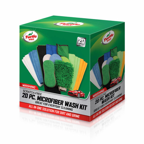 Turtle Wax 20-Pc. Microfiber Wash Kit (TW-WA610 )