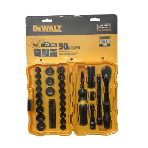 DeWALT DWMT81611 50 Piece Mechanics tool set ( DWMT81611)
