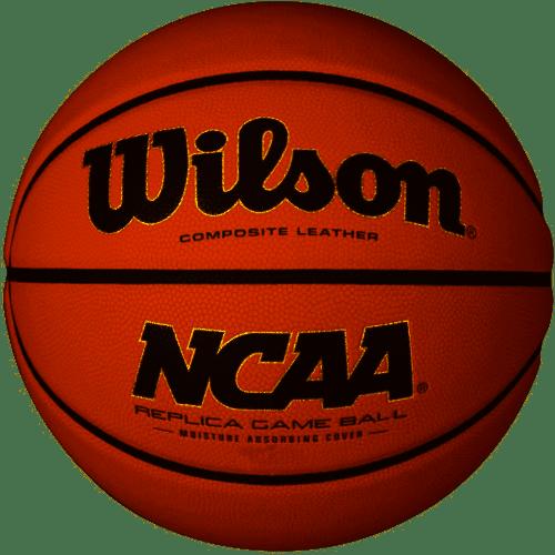 "Wilson Composite Leather NCAA Replica Game Ball Official Basketball 29.5"" (887768545123)"