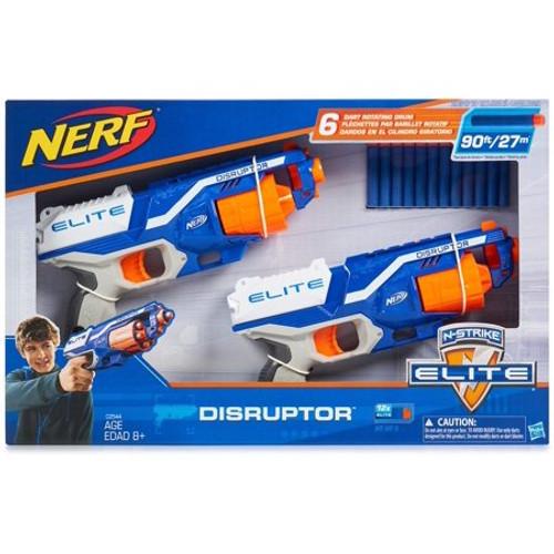 Nerf N-Strike Elite Disruptor 6 Dart Rapid Fire Nerf Gun Blaster (2-Pack) (C2544)