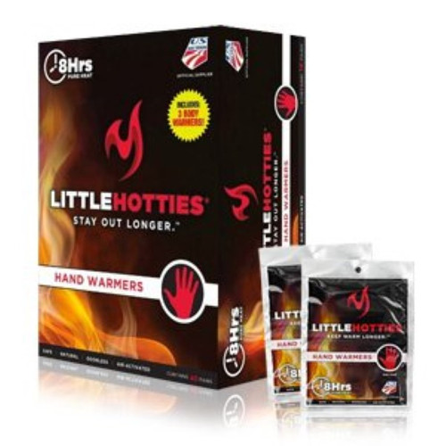 Little Hotties Hand Warmers Air-activated 8 Hours Pure Heat 40 Pairs (2000505)