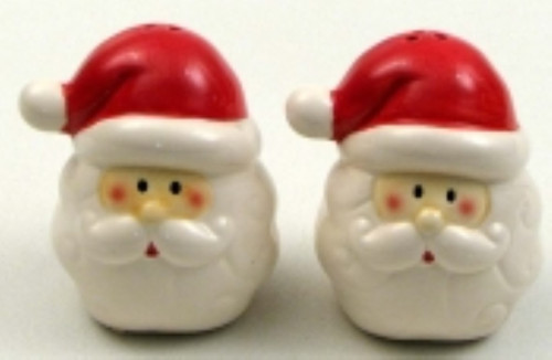 Santa Salt and Pepper Set (049-63917A)