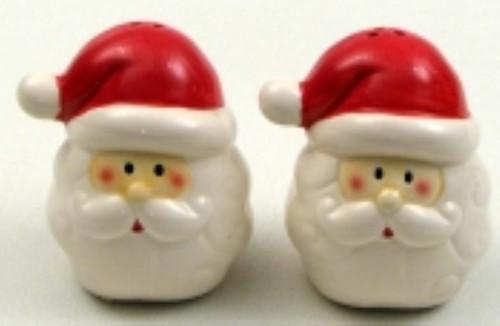 Santa Salt and Pepper Set (049-63917A)