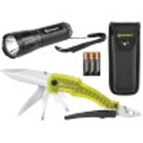 Kilmanjaro Multi-Tool and LED Flashlight Set (910305S)