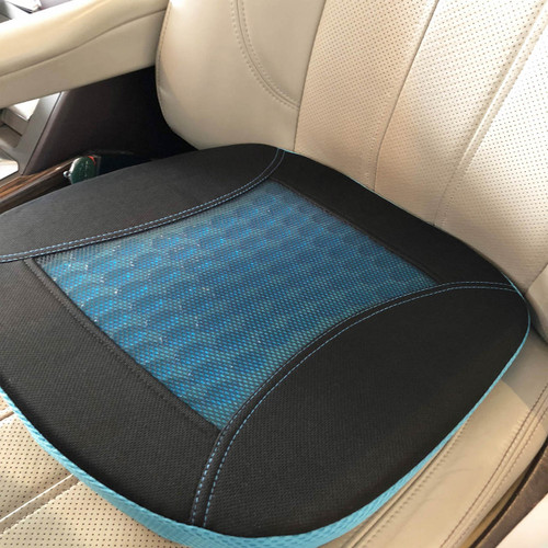 myRide 2-in-1 Memory Foam Gel Seat Cushion (SB-1416BG )