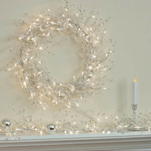 GE 9 ft GEM GARLAND INDOOR Christmas Decor Lights Set ( 2006038)