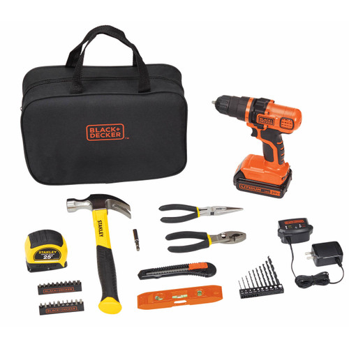 Black & Decker and Stanley 39-Pc. Project Kit (BDPKSBD39CBJ)