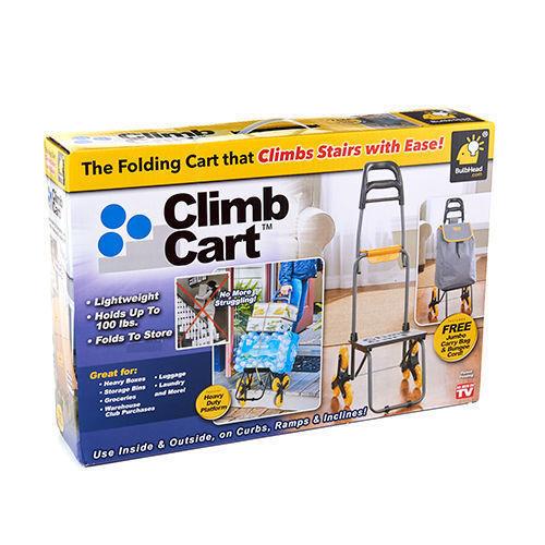 The Climb Cart Stair Climbing Folding Utility Trolley Stair