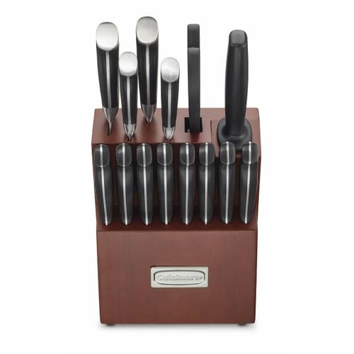 Cuisinart Classic Nitrogen Forged Triple Rivet Cutlery 15-Pc. Block Set (C77TRN-15PBJ)