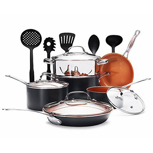 Gotham Steel 15-Pc. Aluminum Cookware Set (1677)