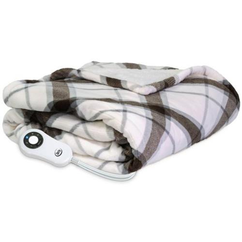 "Serta Perfect Sleeper Reversible Heated Throw, 60"" x 70"" (867227)"