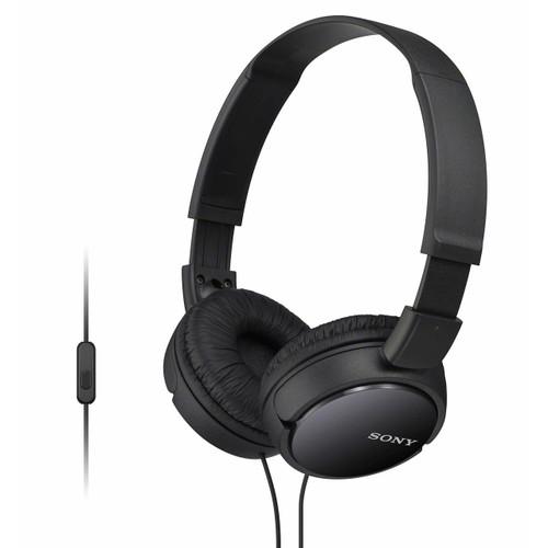 Sony On-Ear Extra Bass Headphones - Black (MDRZX110APBBJ)