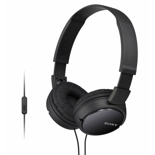 Sony On-Ear Extra Bass Headphones - Black (MDRZX110APBBJ)