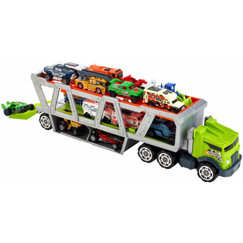 Mattel Matchbox Mega Hauler Transporter with 20 Die Cast Cars Vehicles