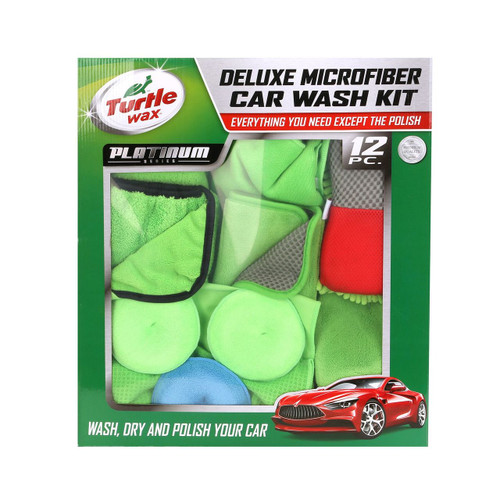 Turtle Wax Platinum 12-Piece Car Wash (TW-WA621)